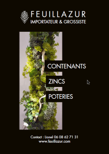 Contenants Zincs Poteries